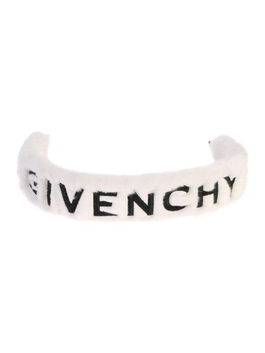 Givenchy Faux Fur Shoulder Strap