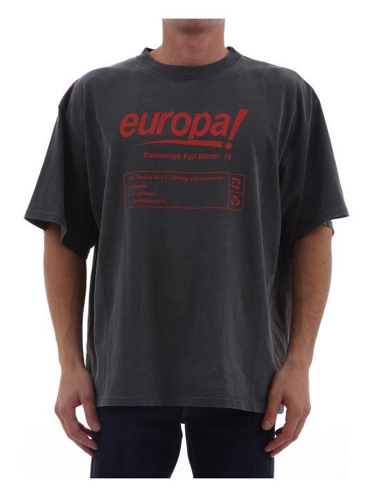 Balenciaga T-shirt Europa! Grey