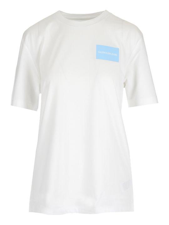Calvin Klein Jeans Vinyl Logo T-shirt