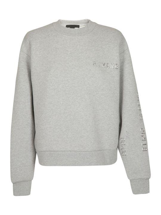 Alexander Wang Logo Printed Sweatshirt