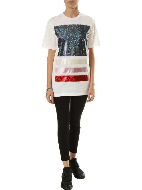 Christopher Kane Metallic Print T-shirt