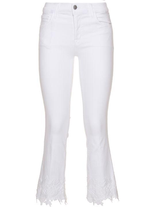 J Brand Slim Cropped Jeans