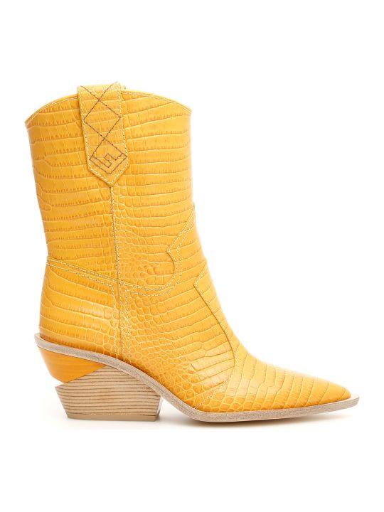 Fendi Cowboy Boots