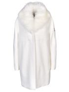 Moncler Gamme Rouge Padded Fur Lined Coat