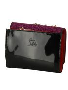 Christian Louboutin Macaron Valentine Glitter Mini Wallet