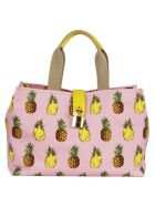Dolce & Gabbana Pineapple Print Shopper Bag