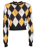 MSGM Geometric Pattern Pullover