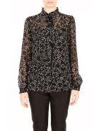 MICHAEL Michael Kors Star Print Shirt - BLACK WHITE|Nero