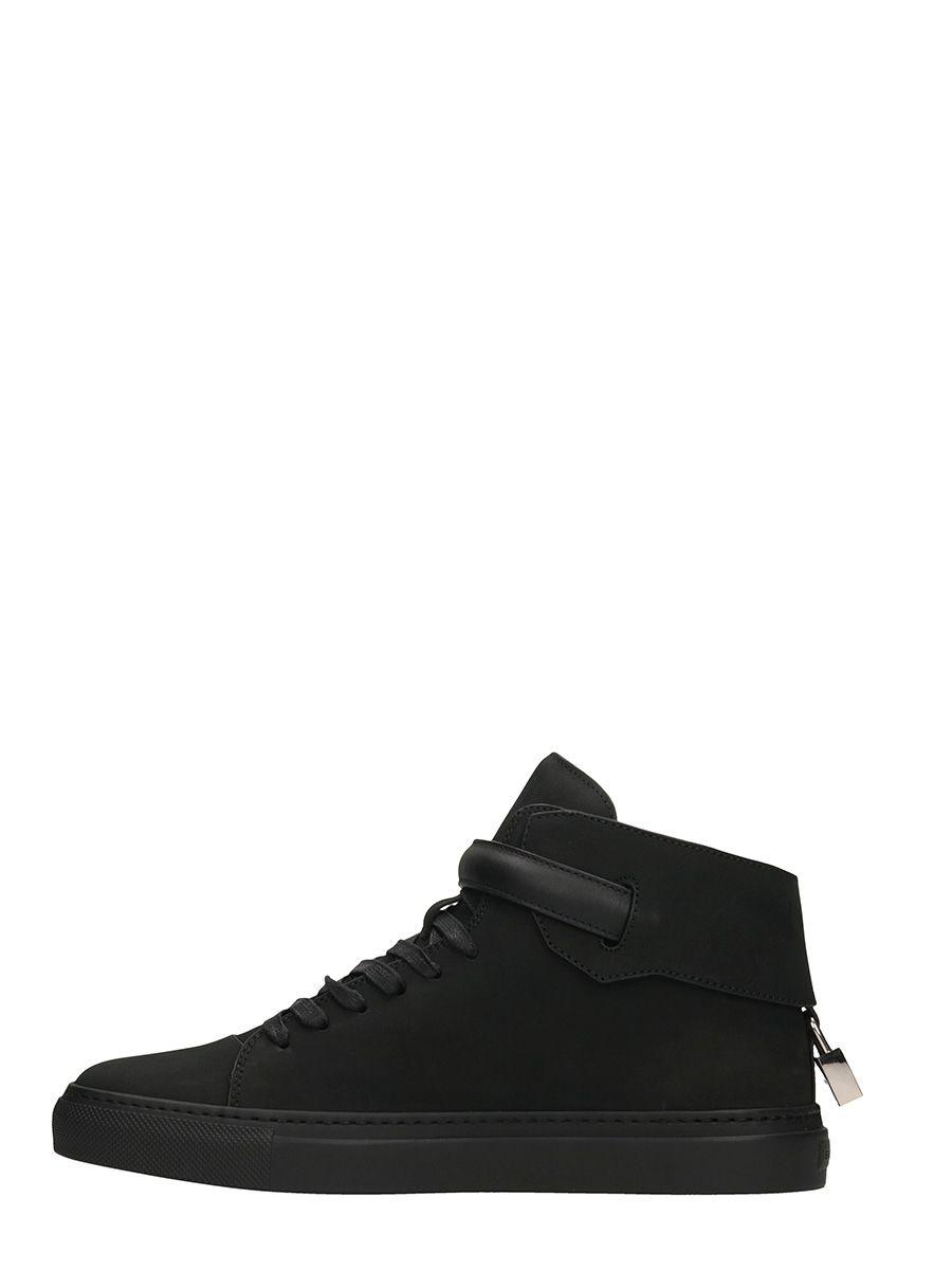 Chaussures De Sport Boucle De 100mm Noir Buscemi 1ab4rV3Err