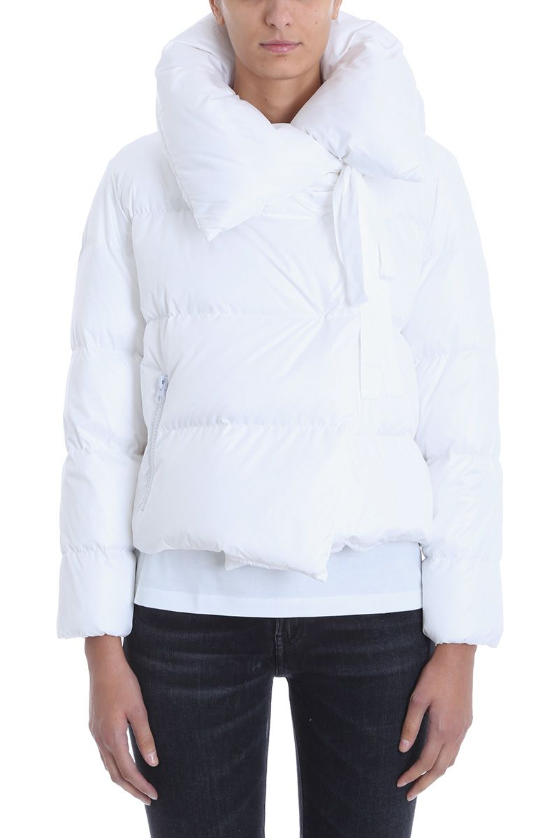 BACON CLOTHING Bacon Puffa White Down Jacket.