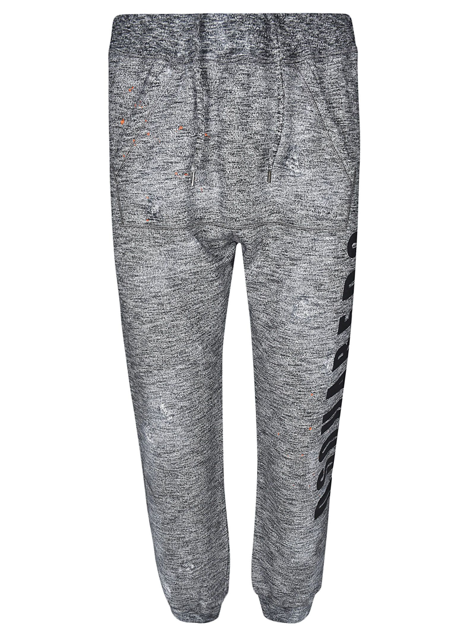 DSQUARED2 SIDE LOGO TRACK PANTS