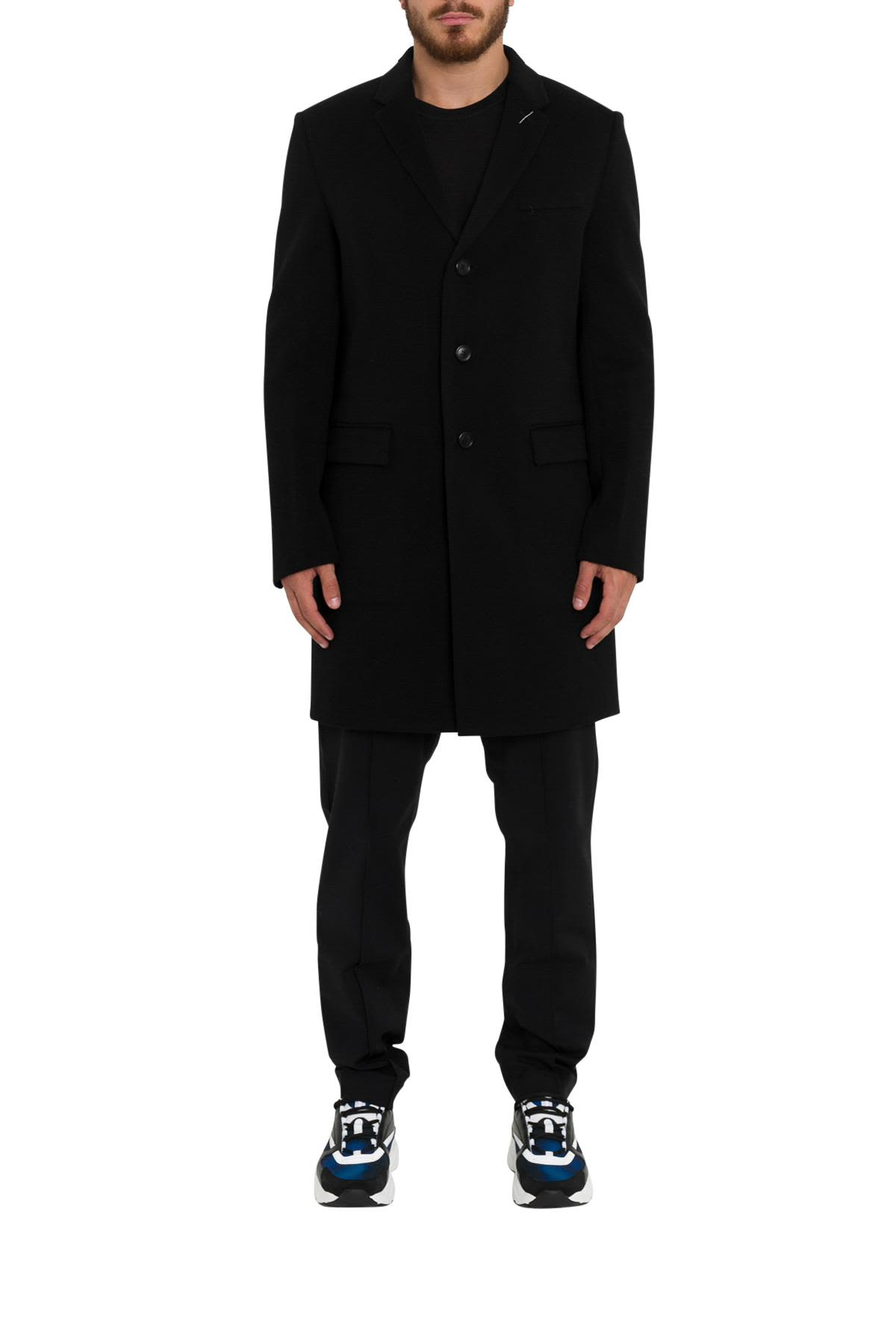 DIOR HOMME SINGLE-BREASTED COAT