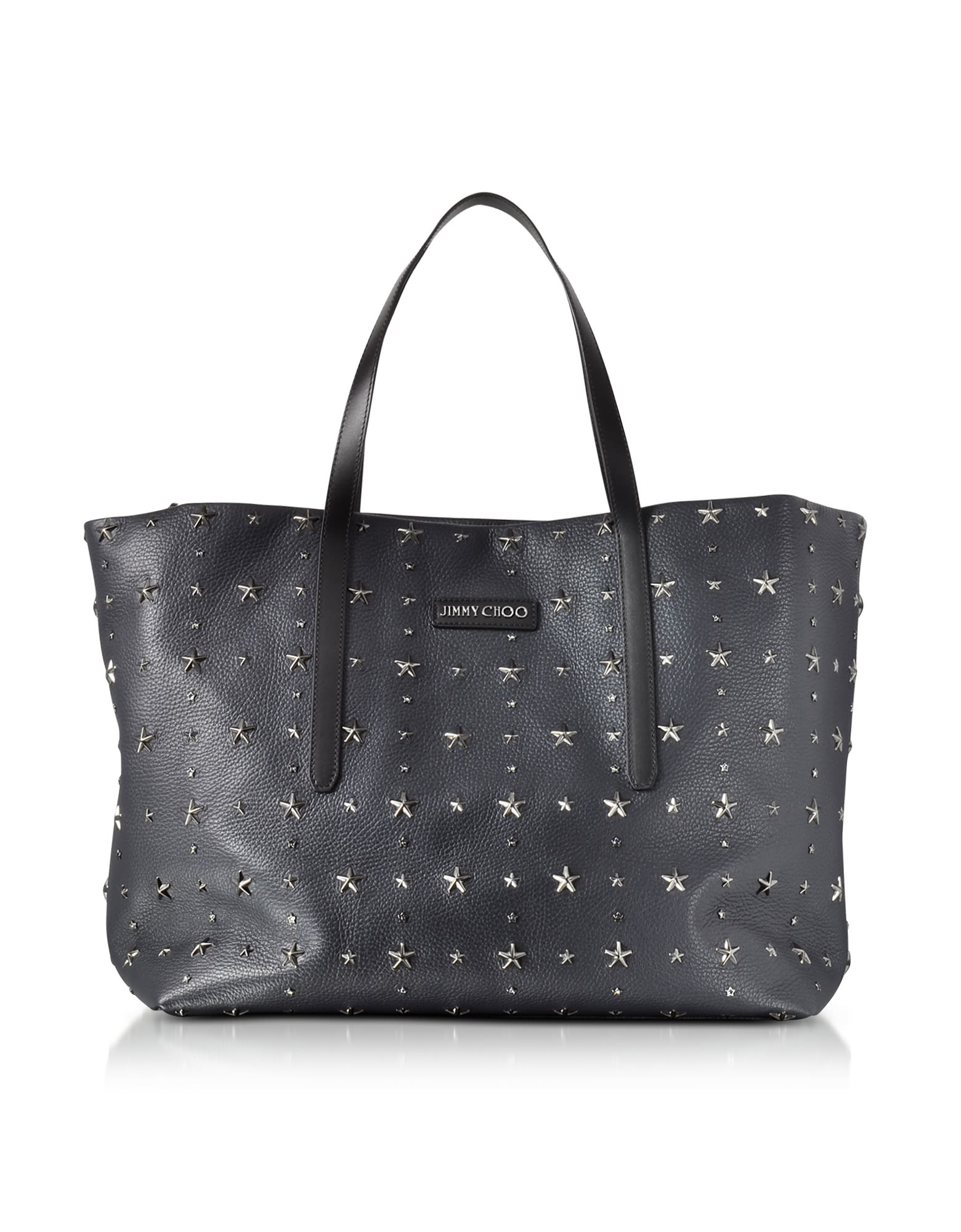 PIMLICO NAVY-SLATE LEATHER LARGE TOTE