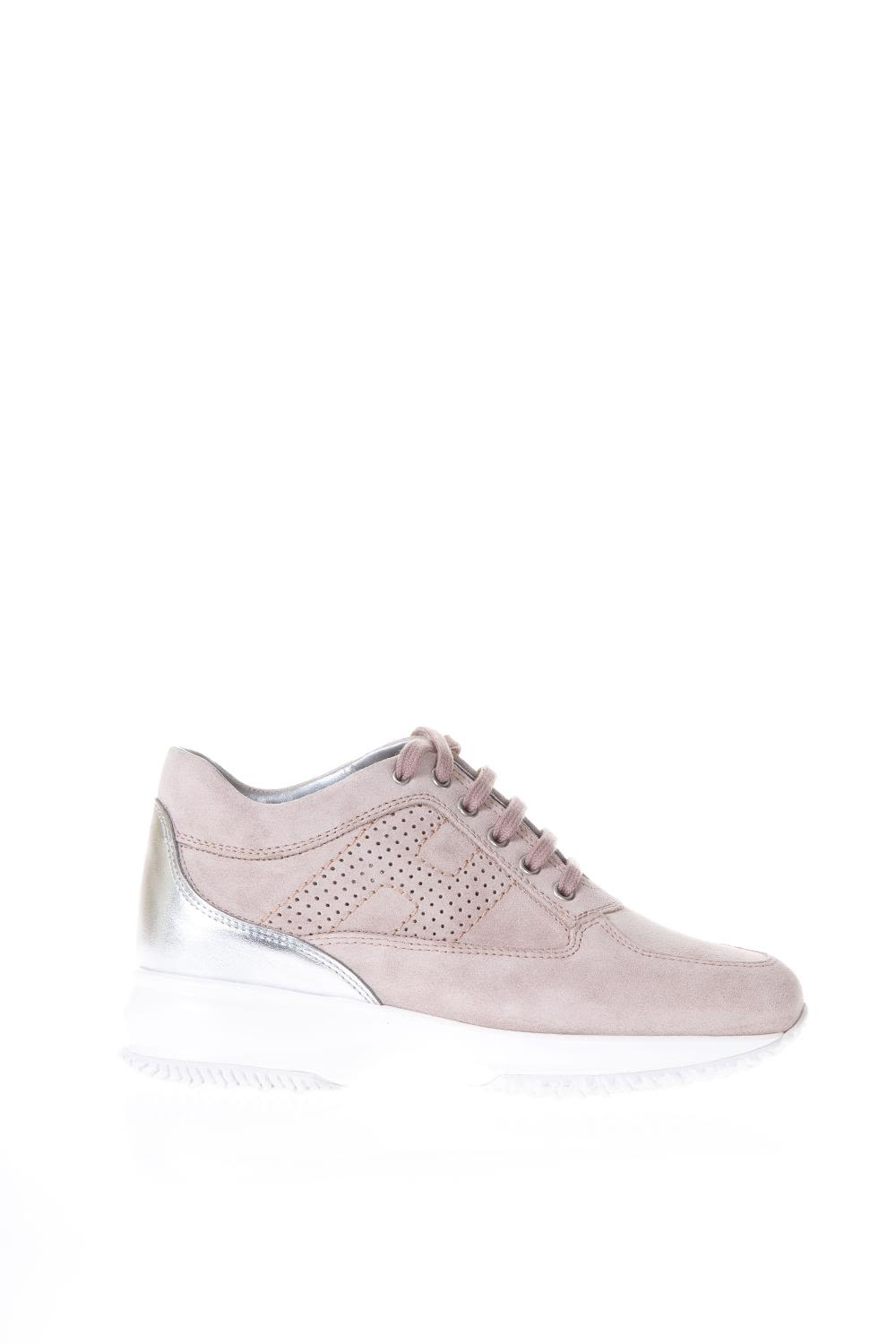 Hogan Interactive Pink Suede & Leather Sneakers Sale Official Site GW3gCEIf
