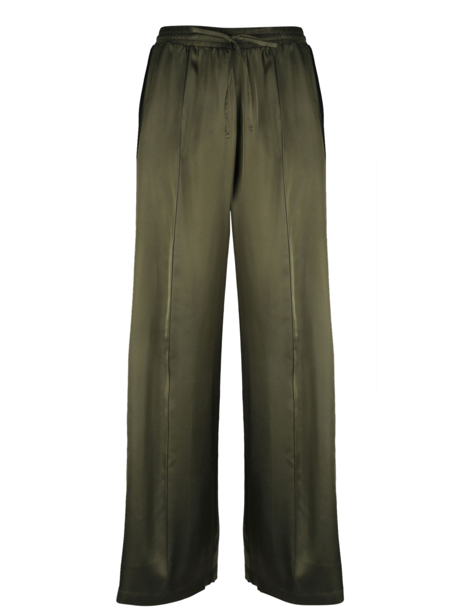 SEMICOUTURE SIDE STRIPE TROUSERS from Italist.com