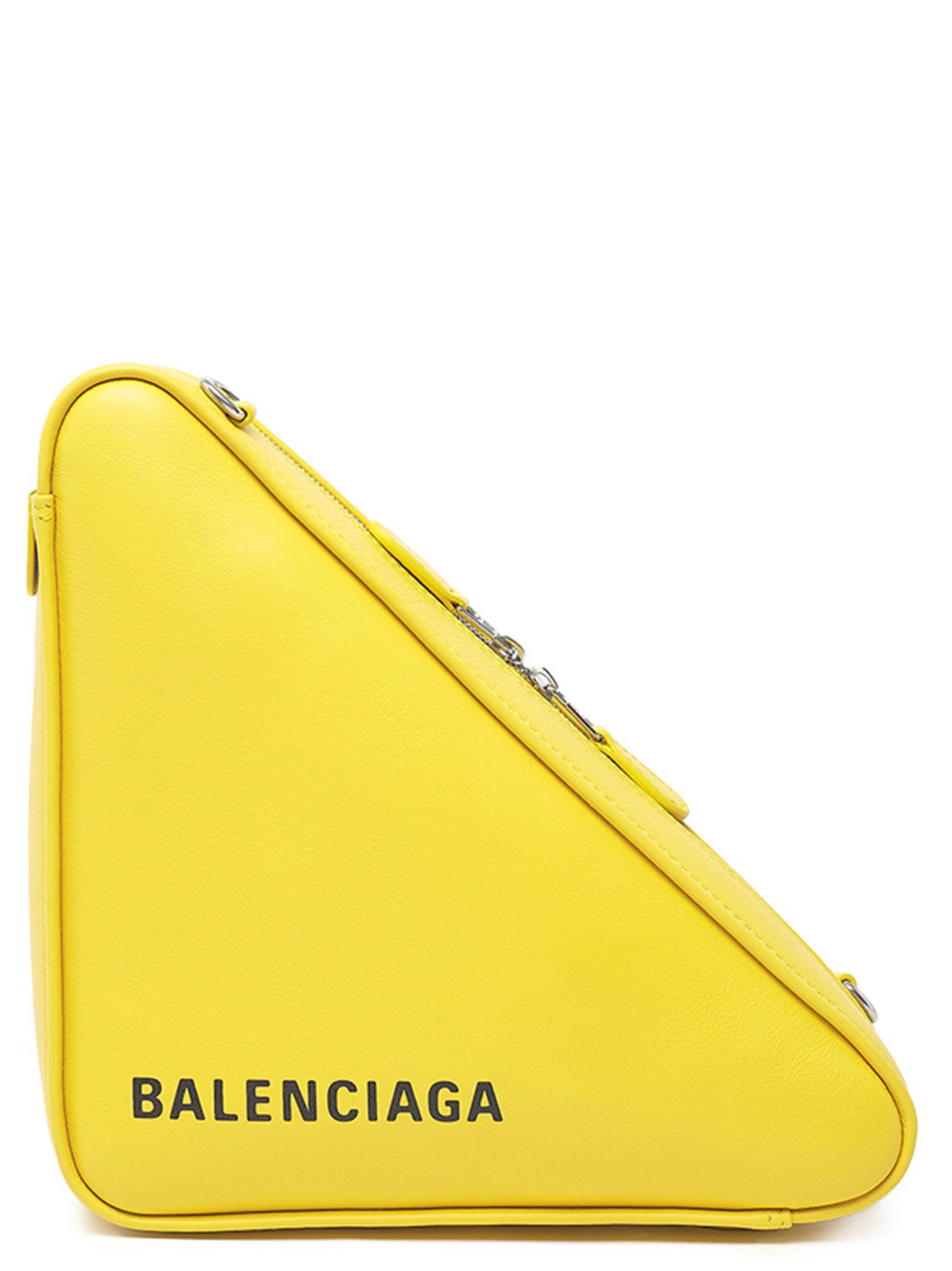 BALENCIAGA CHAIN TRIANGLE BAG