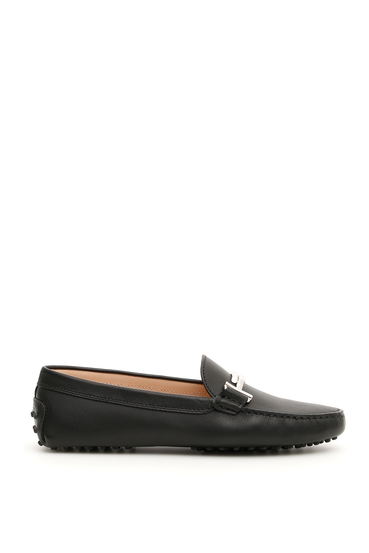 GOMMINO LOAFERS WITH DOUBLE T LOGO