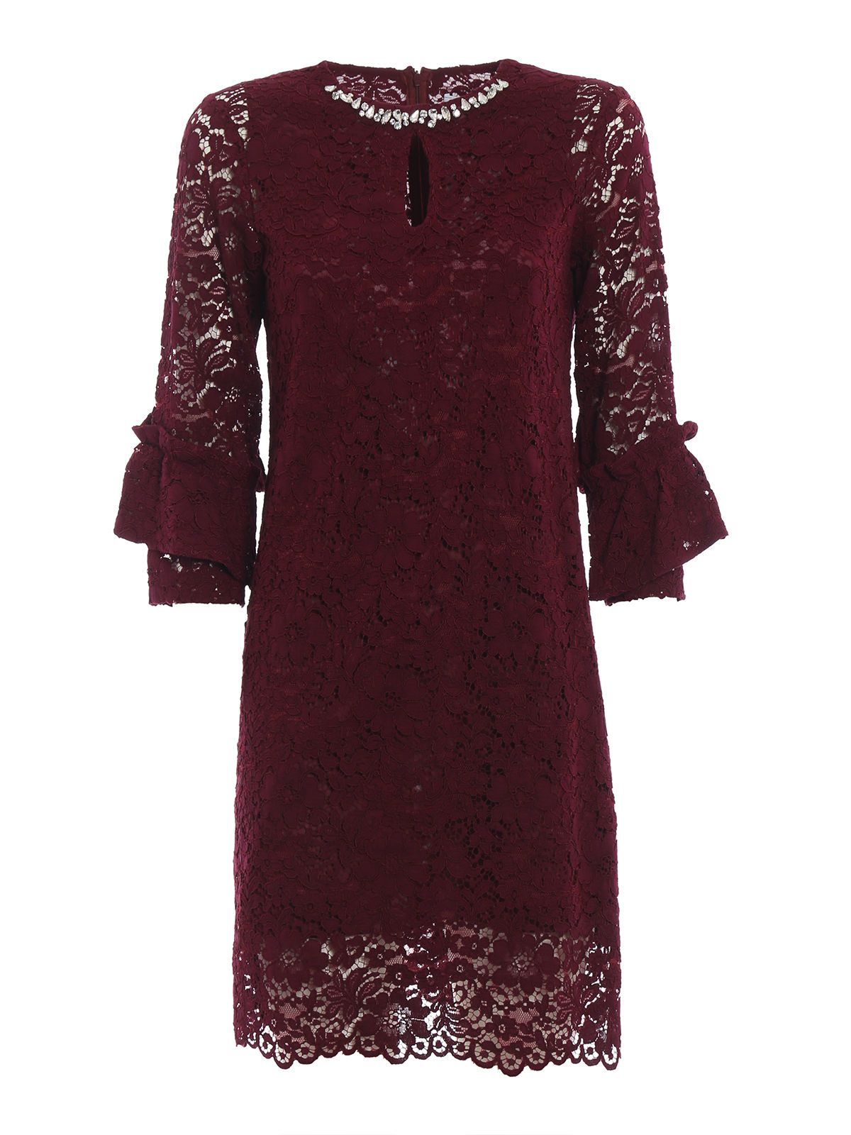 Blugirl LACE SHIFT DRESS