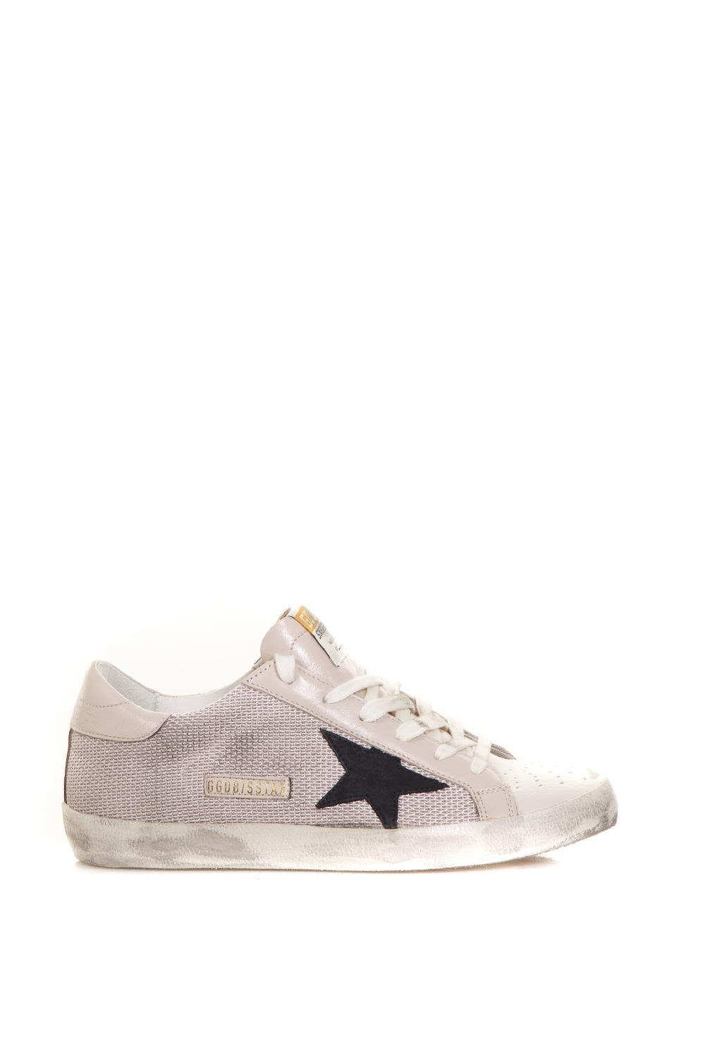 PINK TEXTURE SUPER STAR SNEAKERS