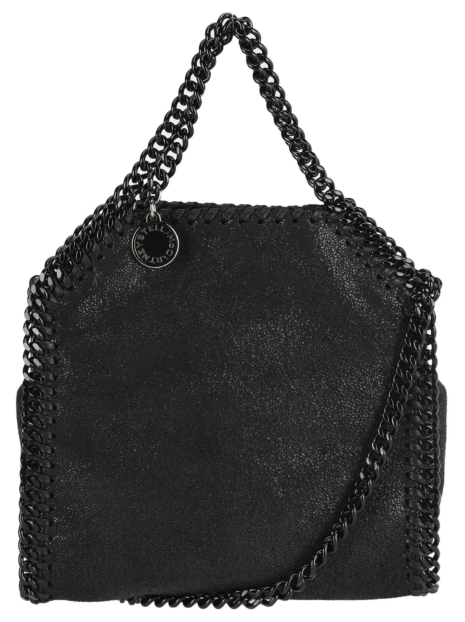 STELLA MCCARTNEY TINY FALABELLA BLACK CHAIN