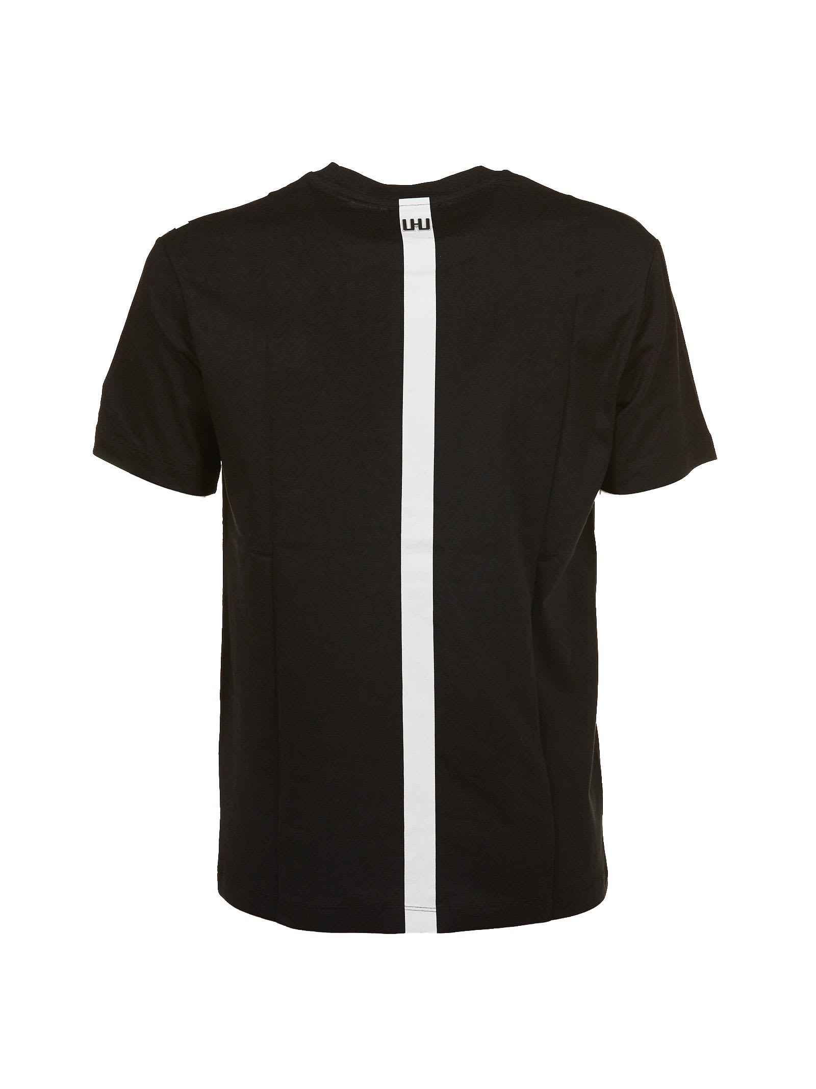 line print T-shirt - Black Les Hommes Low Shipping Fee For Sale Sale Clearance Store Clearance Low Cost rAgdT