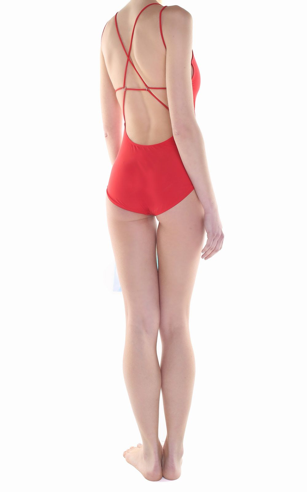 Quality Free Shipping Low Price Free Shipping Best Prices Halla techno-jersey swimsuit Acne Studios SV6aIg1Ar