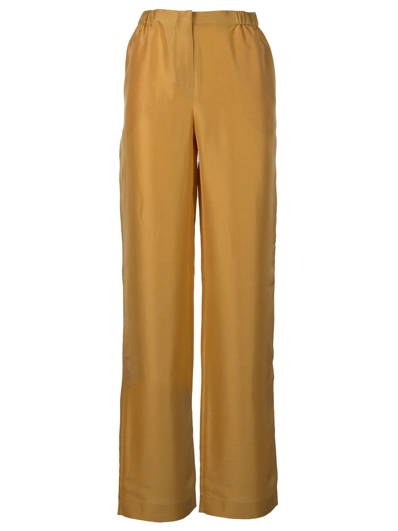 alberta ferretti -  Straight Leg Trousers
