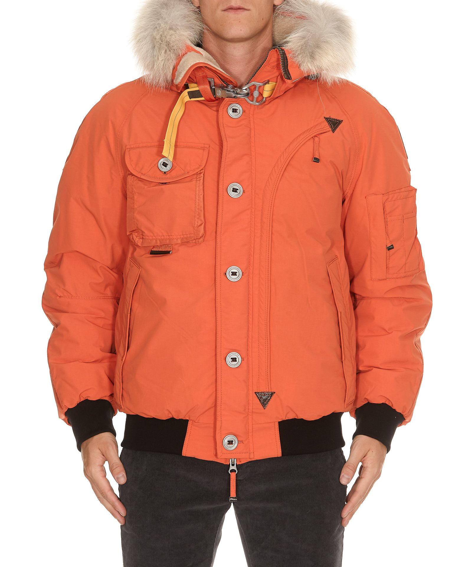 PARAJUMPERS TRIBE PADDED JACKET, LOBSTER