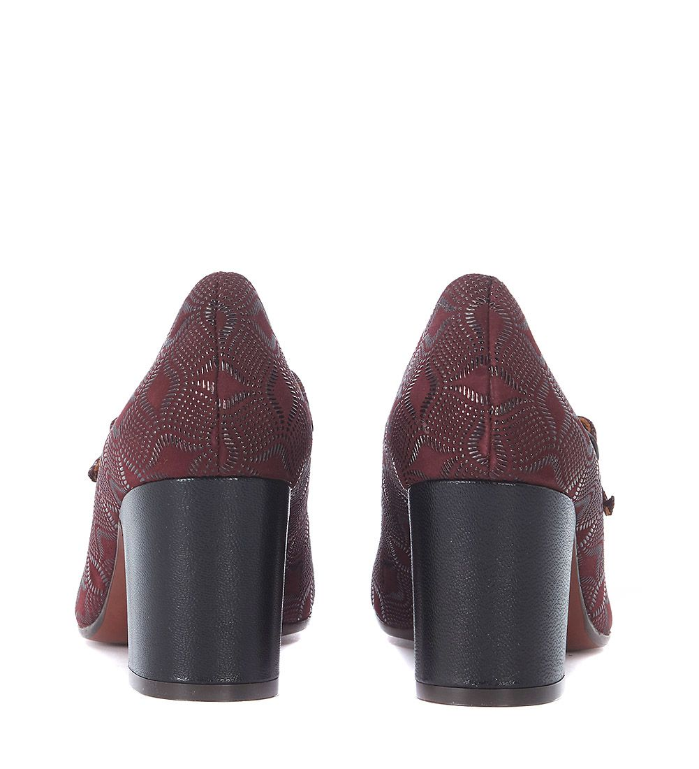 Chie Mihara Feijun Burgundy Leather Décolleté Best Store To Get Factory Outlet For Sale Shop Offer Cheap Online Low Price Cheap Online mKZdBUava