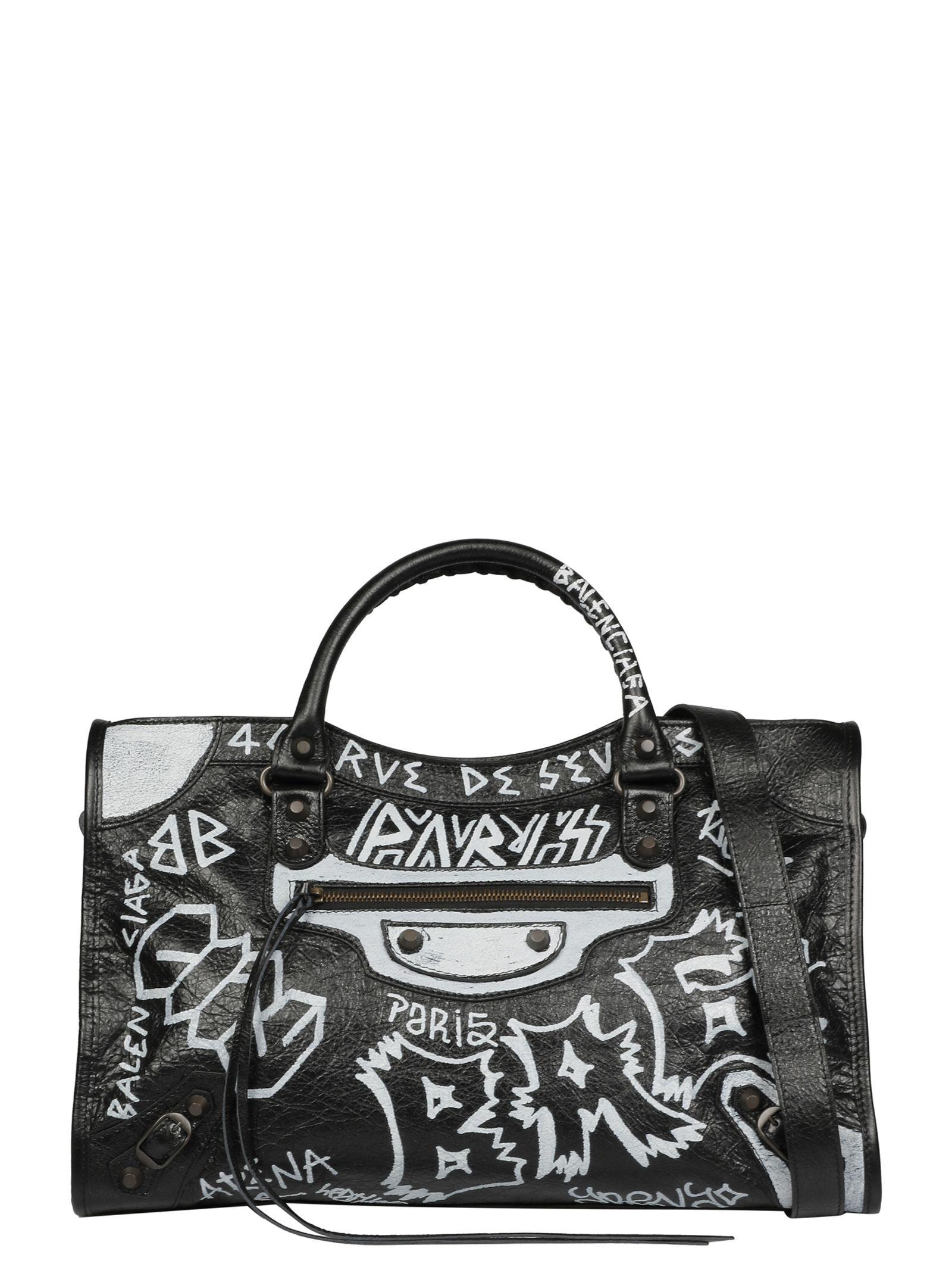 GRAFFITI SHOULDER BAG
