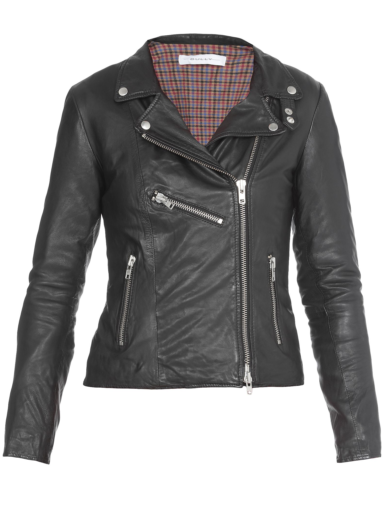 BULLY Leather Jacket in Black