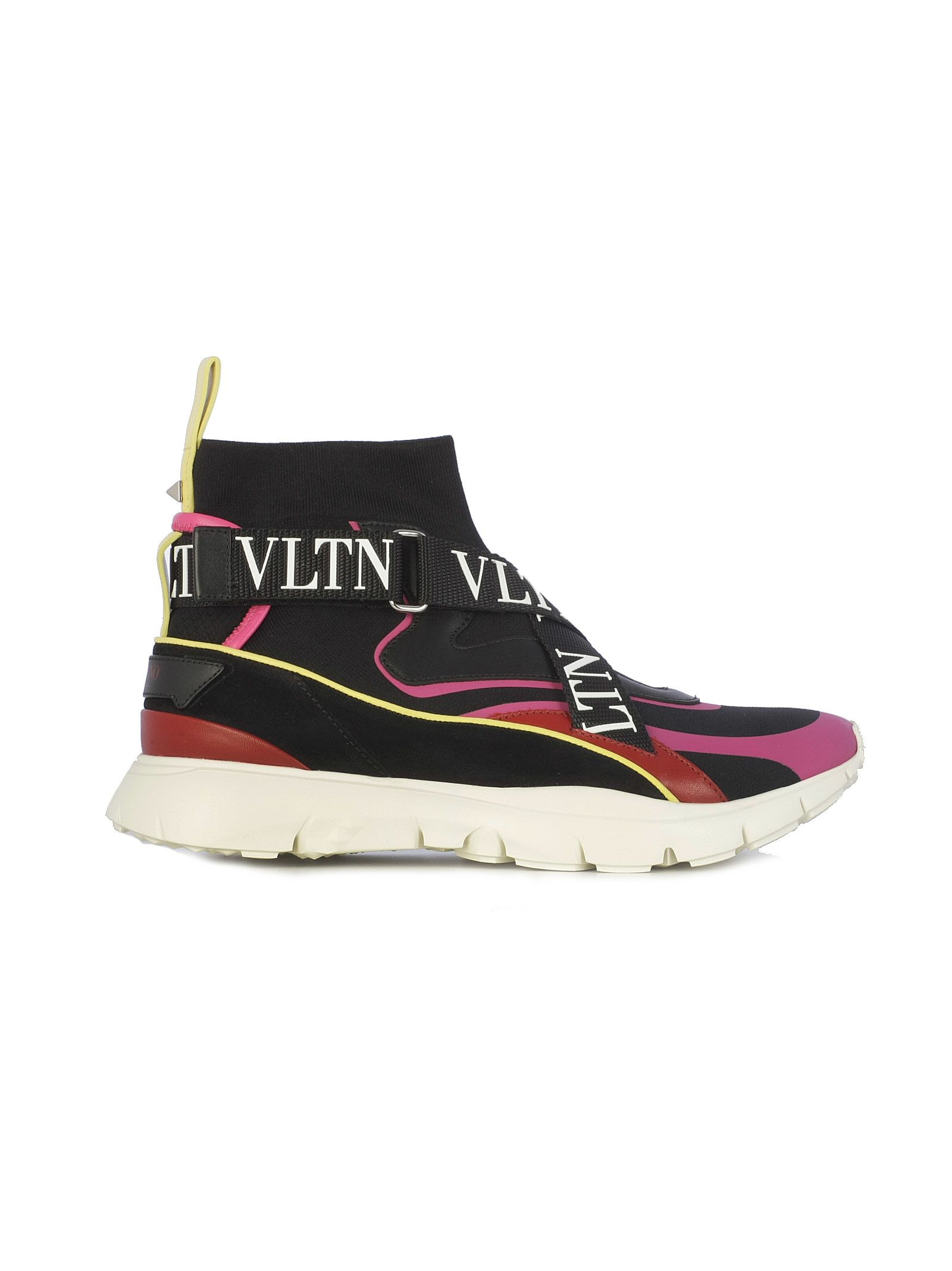 Valentino Heroes Logo Strap Sneakers
