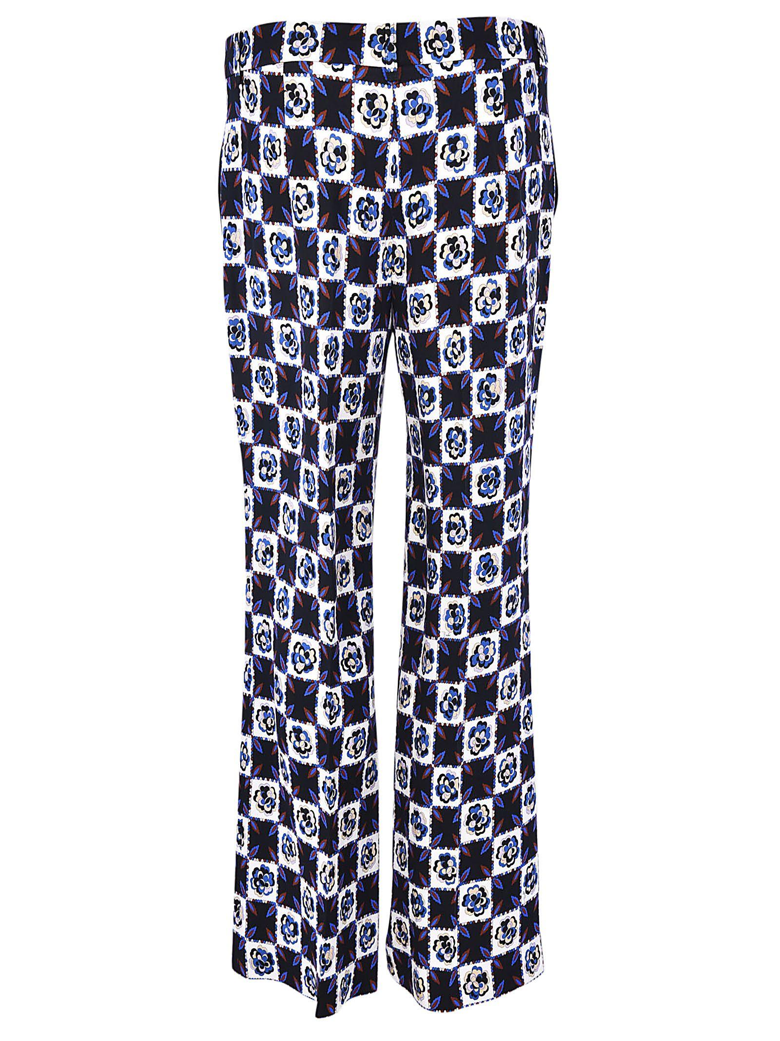 printed capri trousers - Multicolour Emilio Pucci kRg0G