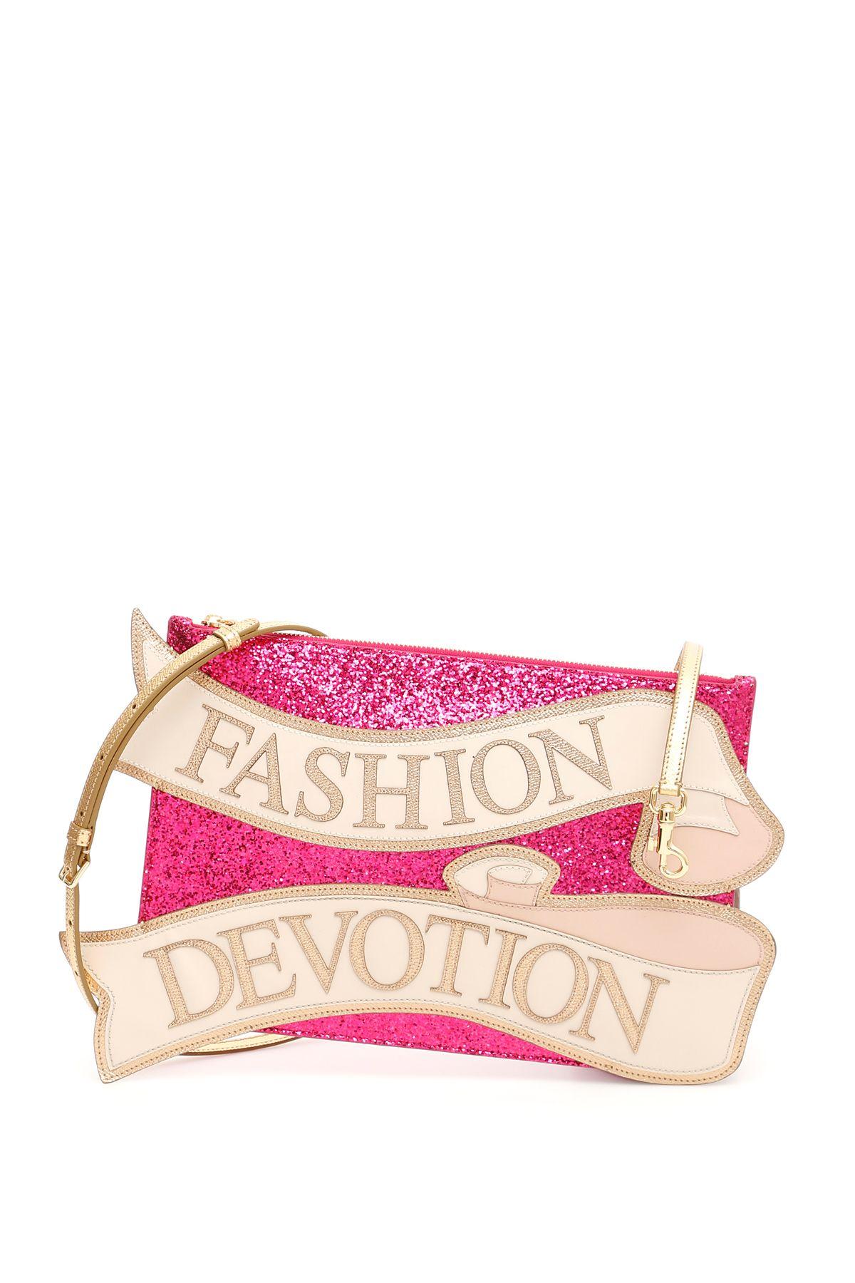 Fashion Devotion Clutch in Fuxia Multicolor