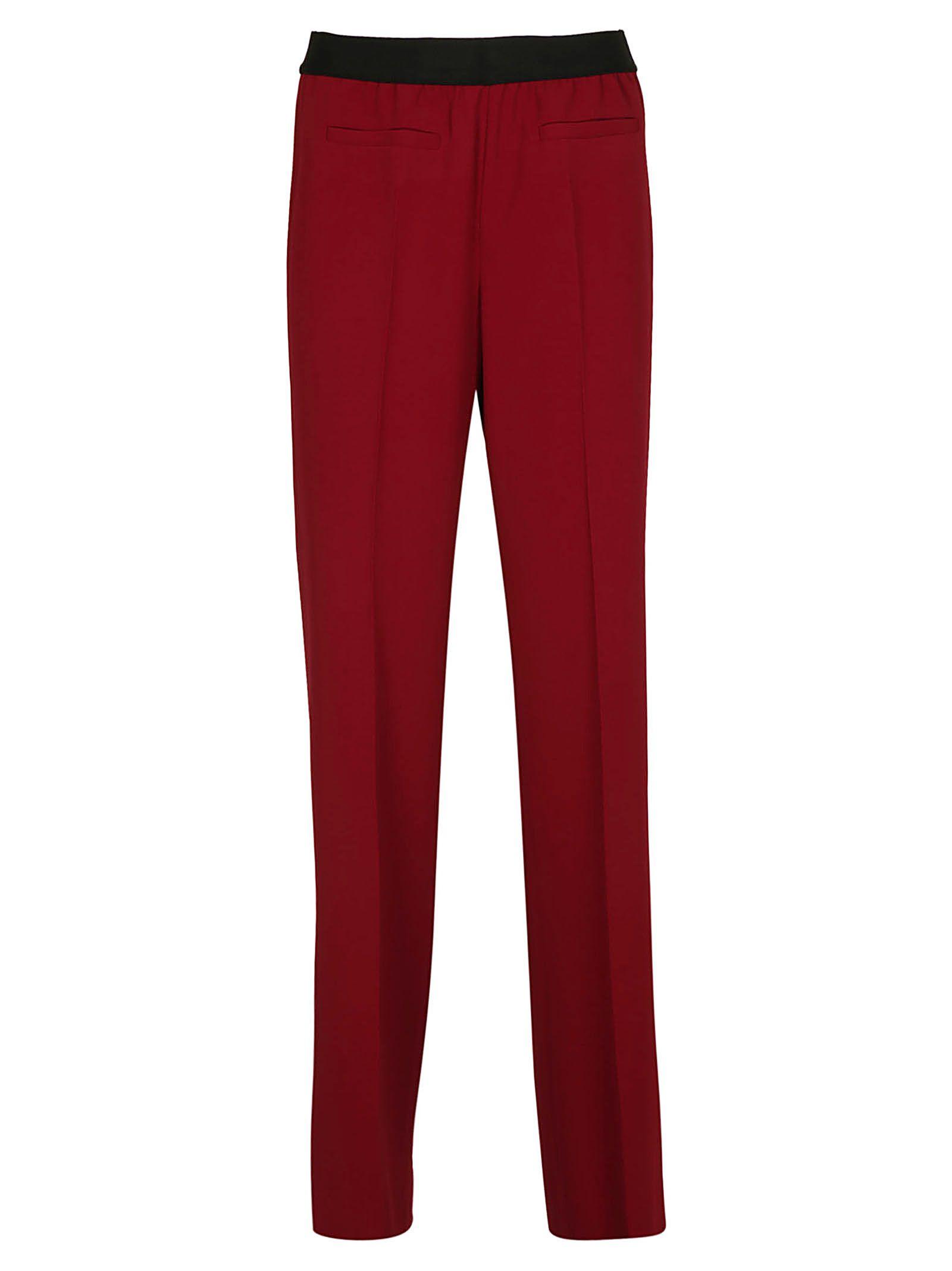 NEWYORKINDUSTRIE New York Industrie Classic Trousers in Bordo'