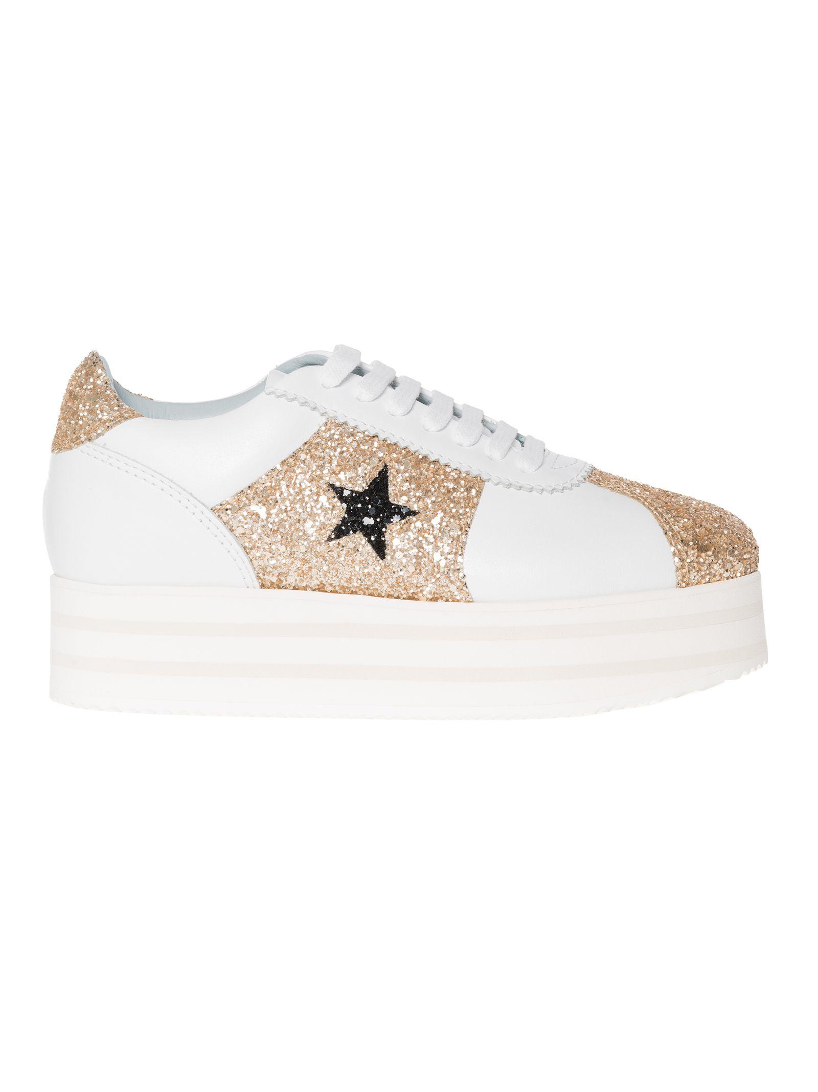 Chiara Ferragni contrast star sneakers clearance low shipping fee OyiC87