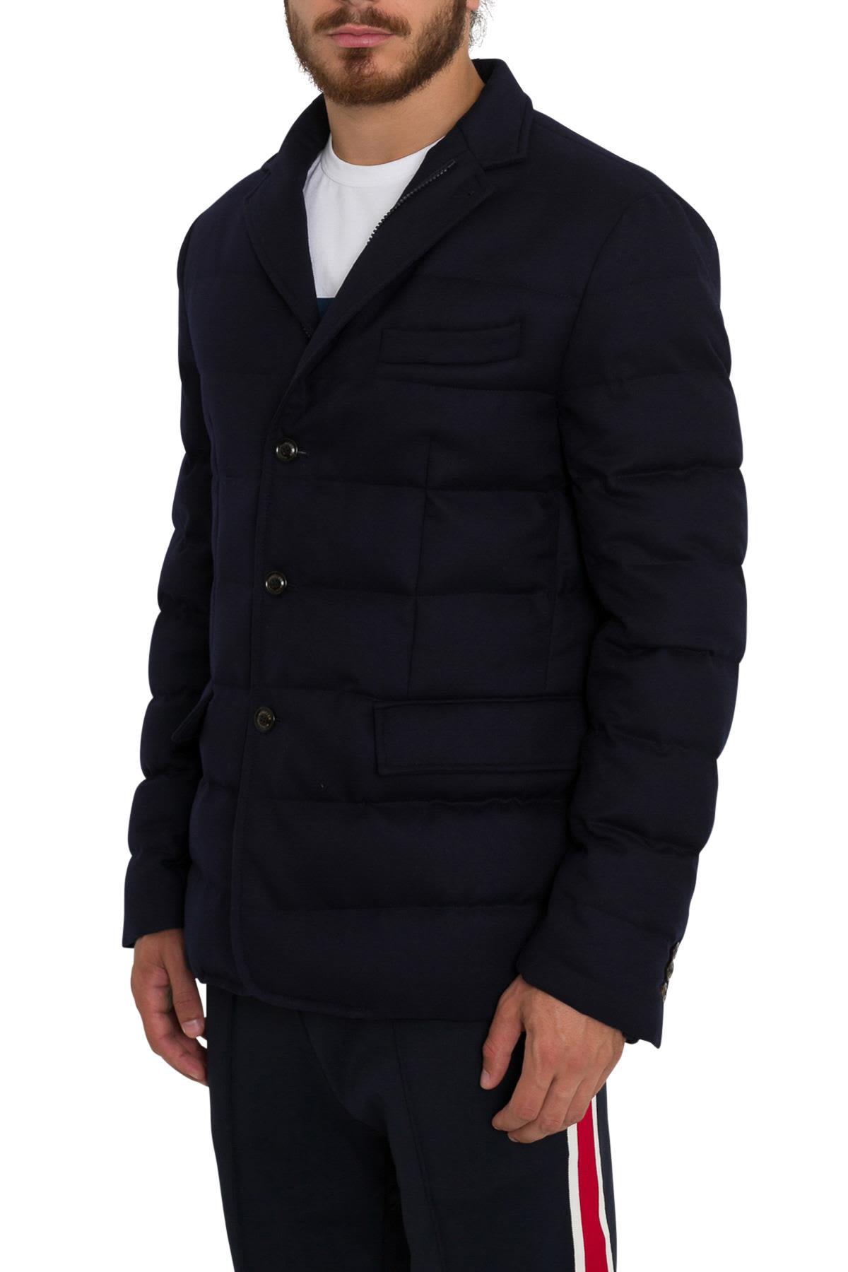Moncler Rodin Padded Jacket - Blu ...