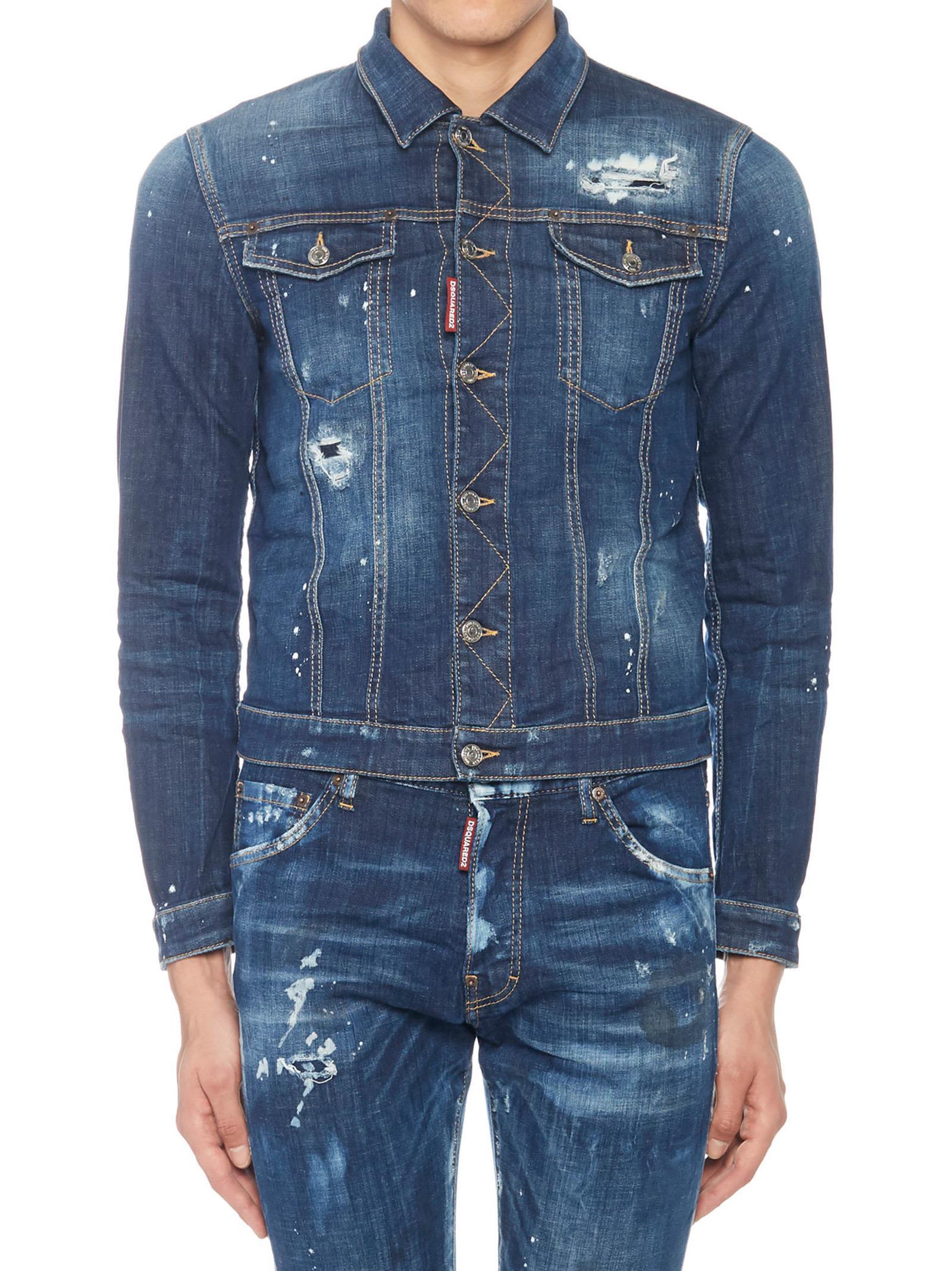 Dsquared2 'tidy Jean Jacket' Jacket