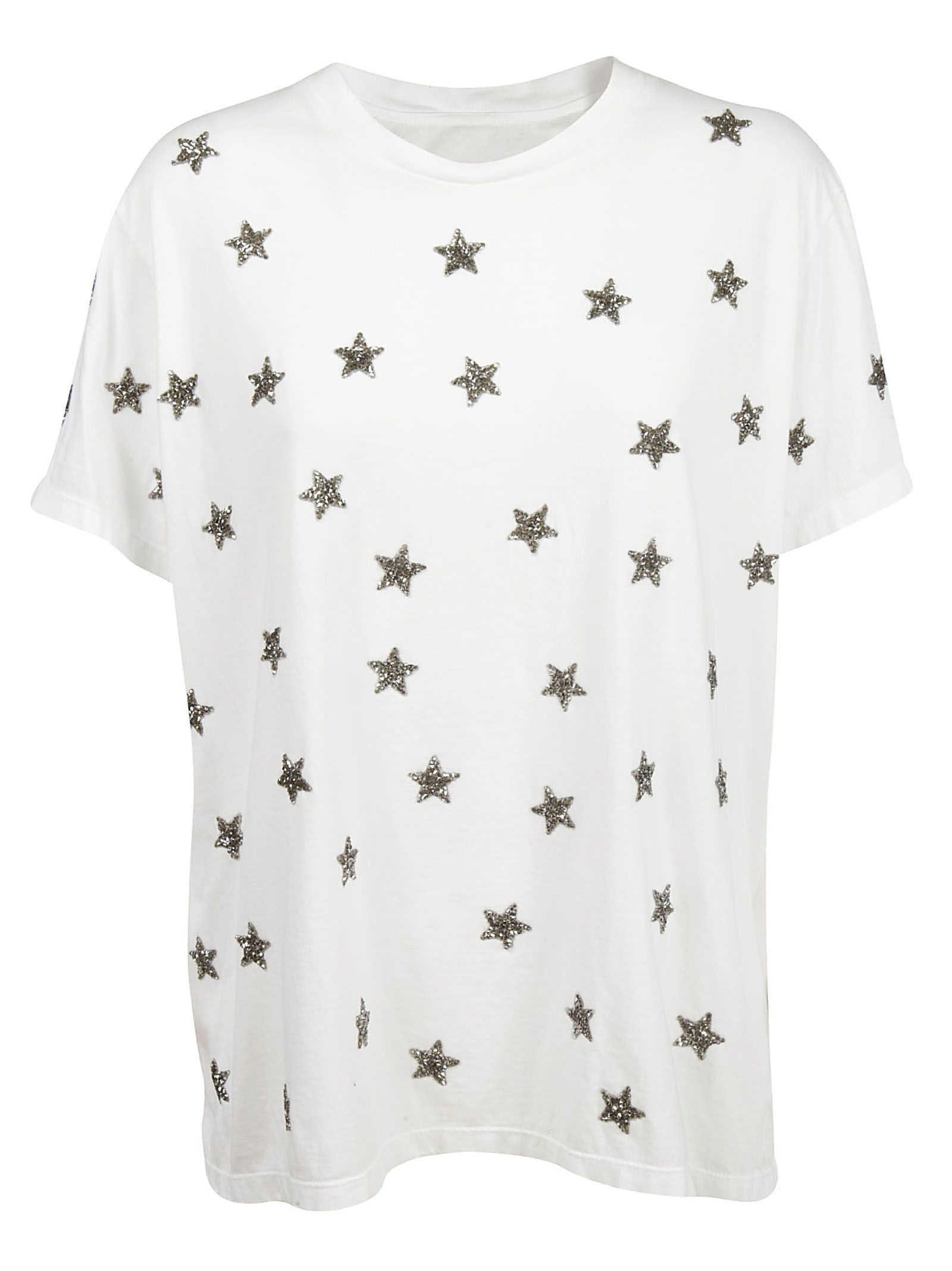 star embellished T-shirt - White AS65 Discount Visit New h6vwAg