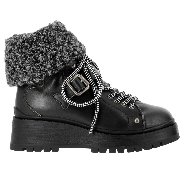 Flat Booties Shoes Women Miu Miu