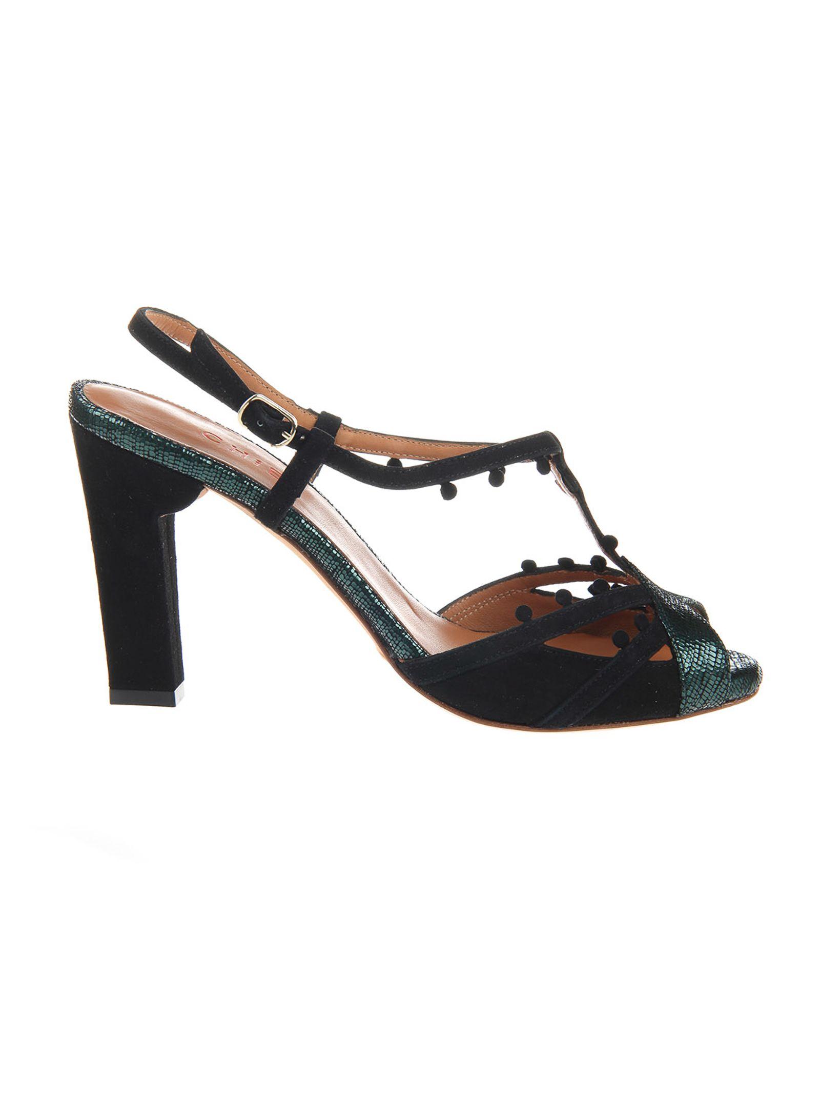 metallic sandals - Black Chie Mihara ExDJChn4