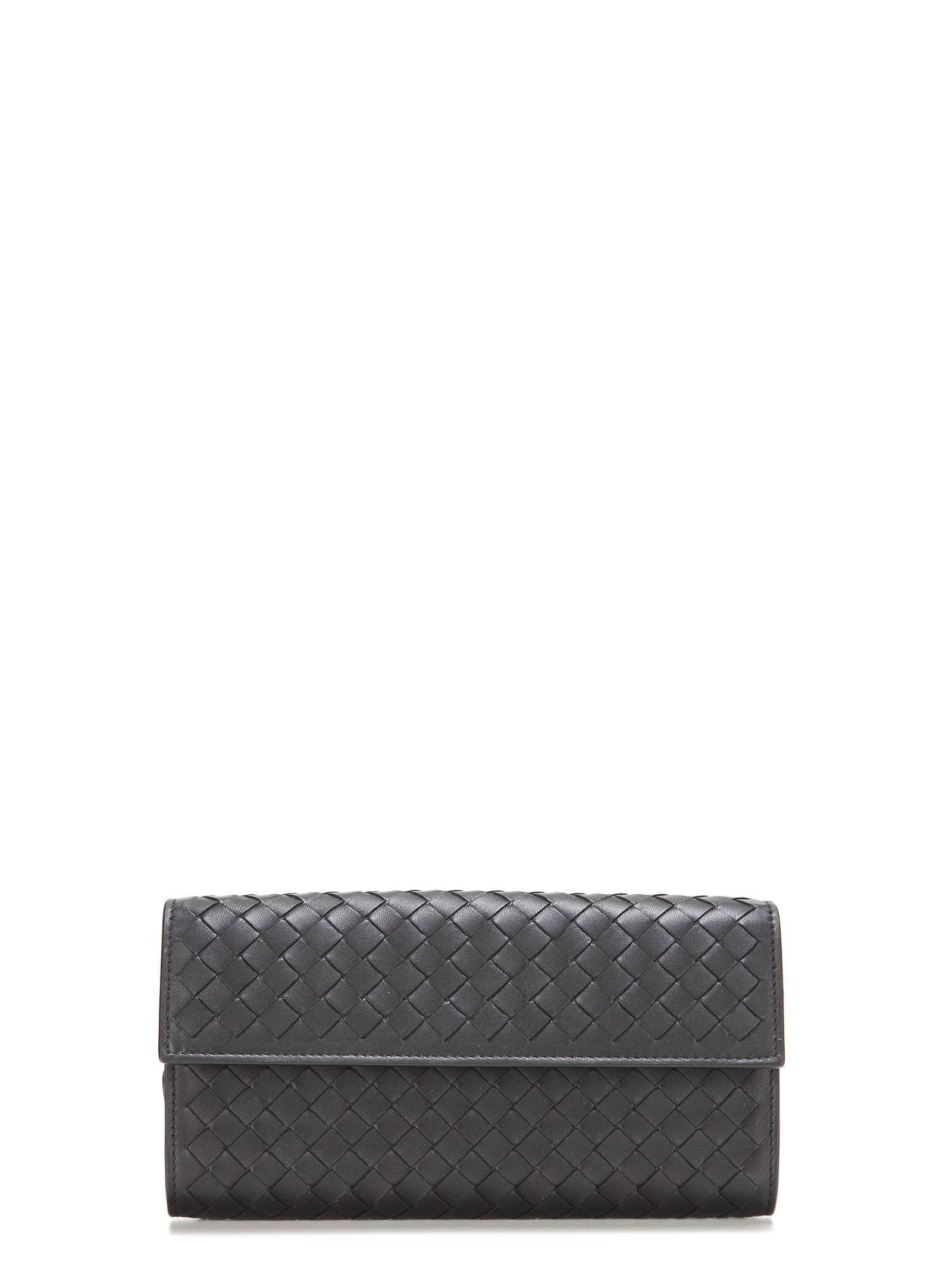 Bottega Veneta Interlaced Continental Wallet