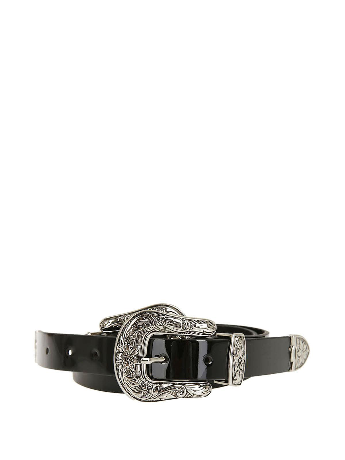 western double buckle belt - Red B-Low The Belt iyyXK4XD