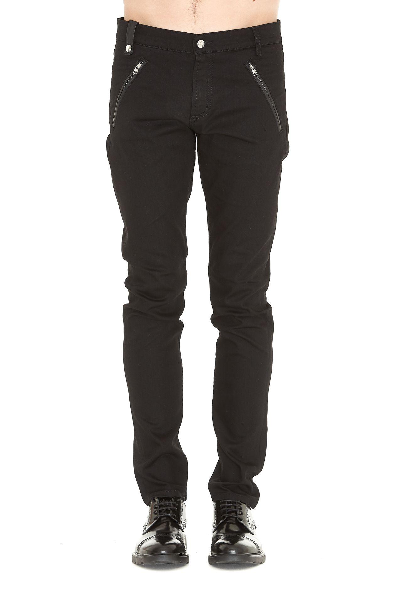 Alexander Mcqueen Organic Jeans 9937221