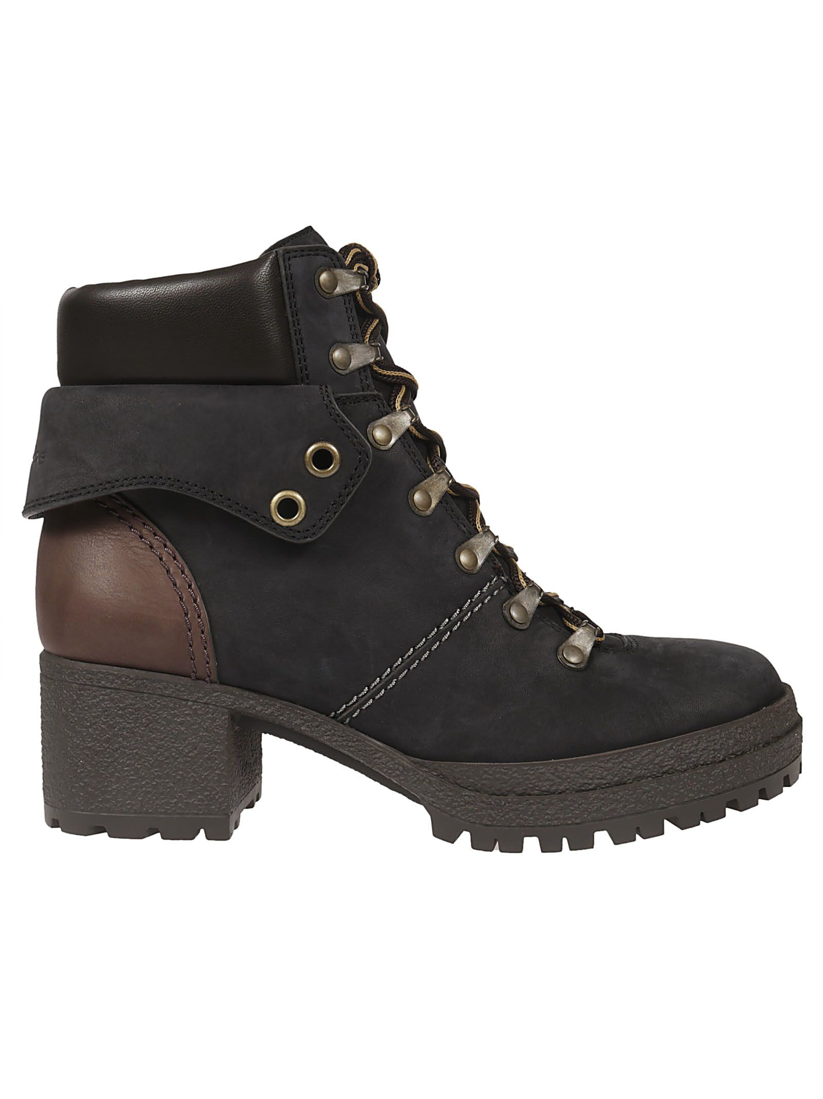 see by chloé -  Eileen Lace-up Boots