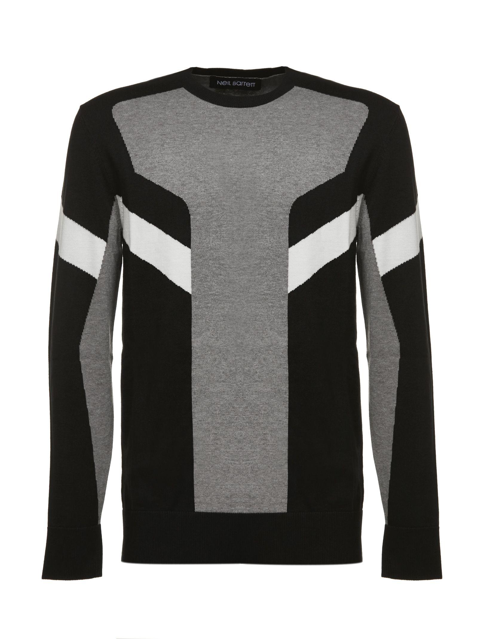 Neil Barrett Round Neck Sweatshirt