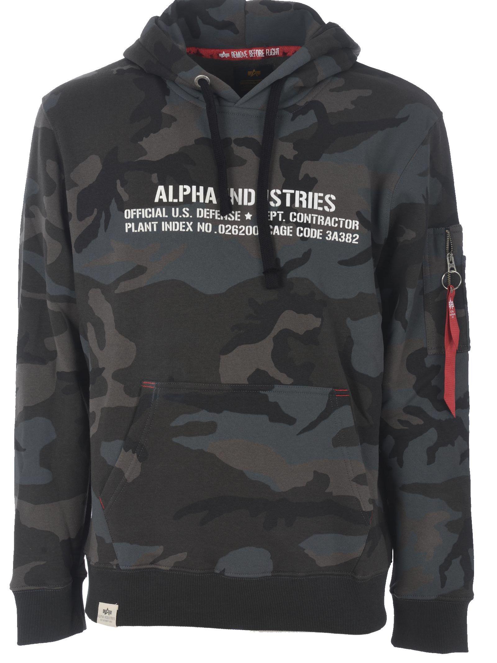 Alpha Industries Camo Hoodie
