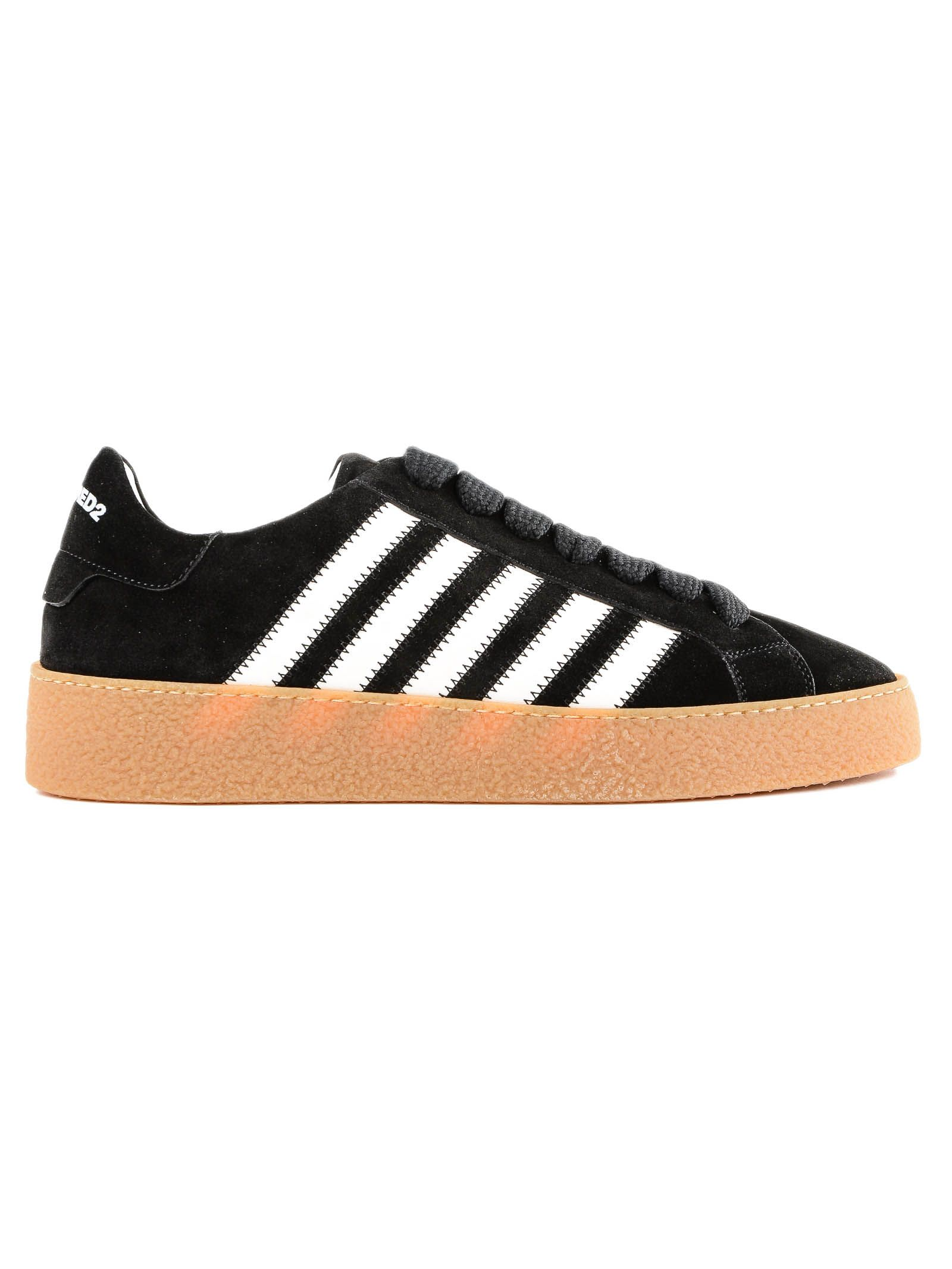 DSQUARED2 VELOUR SNEAKERS