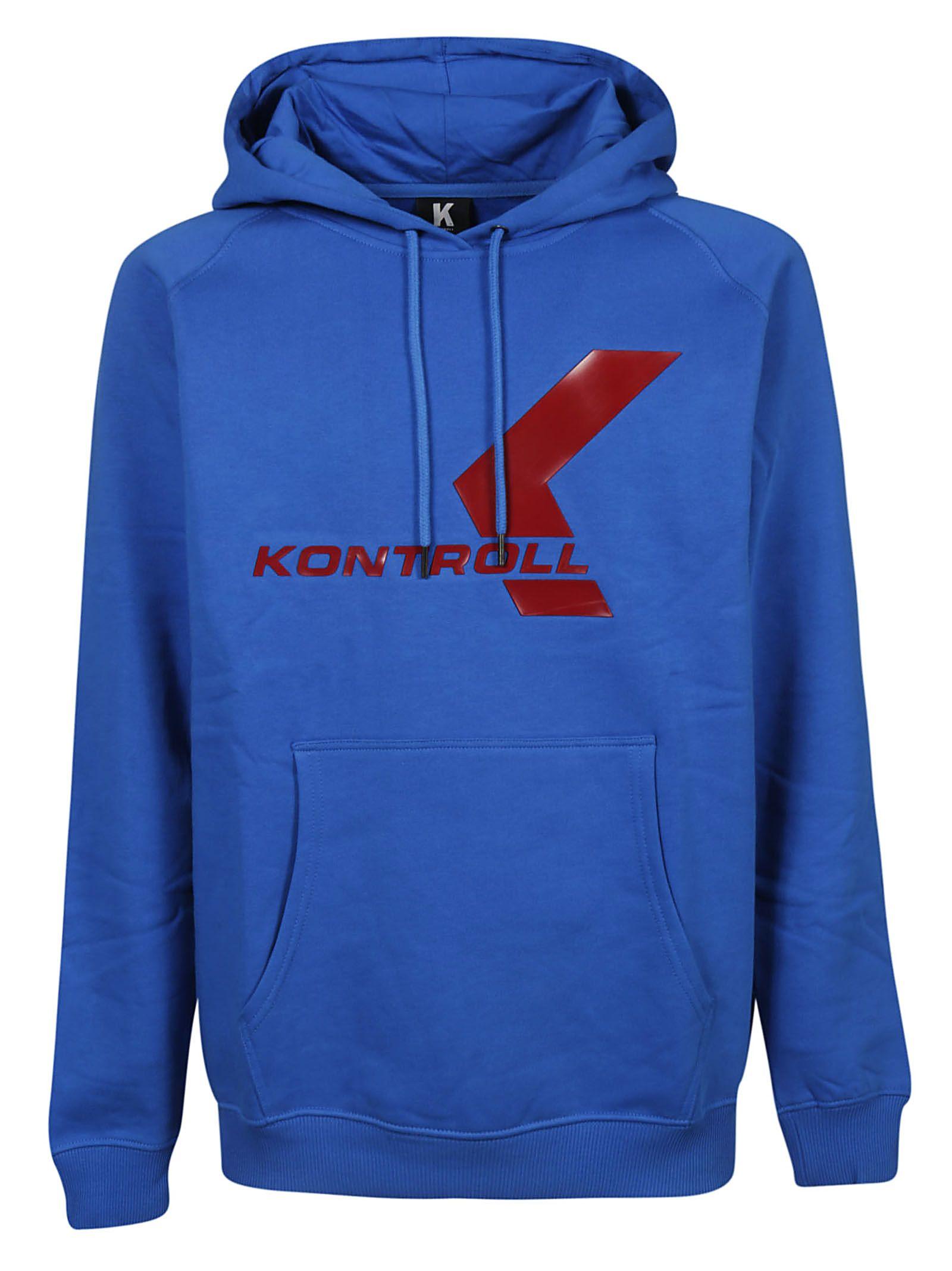 KAPPA Kontroll Logo Hoodie in Blue