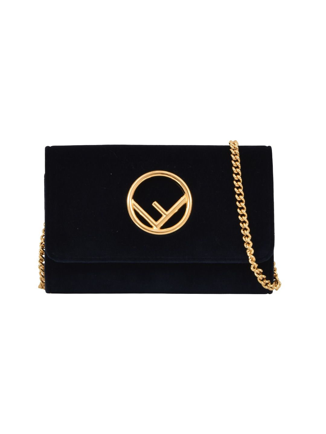 FENDI MINI-BAG VELVET FLAP